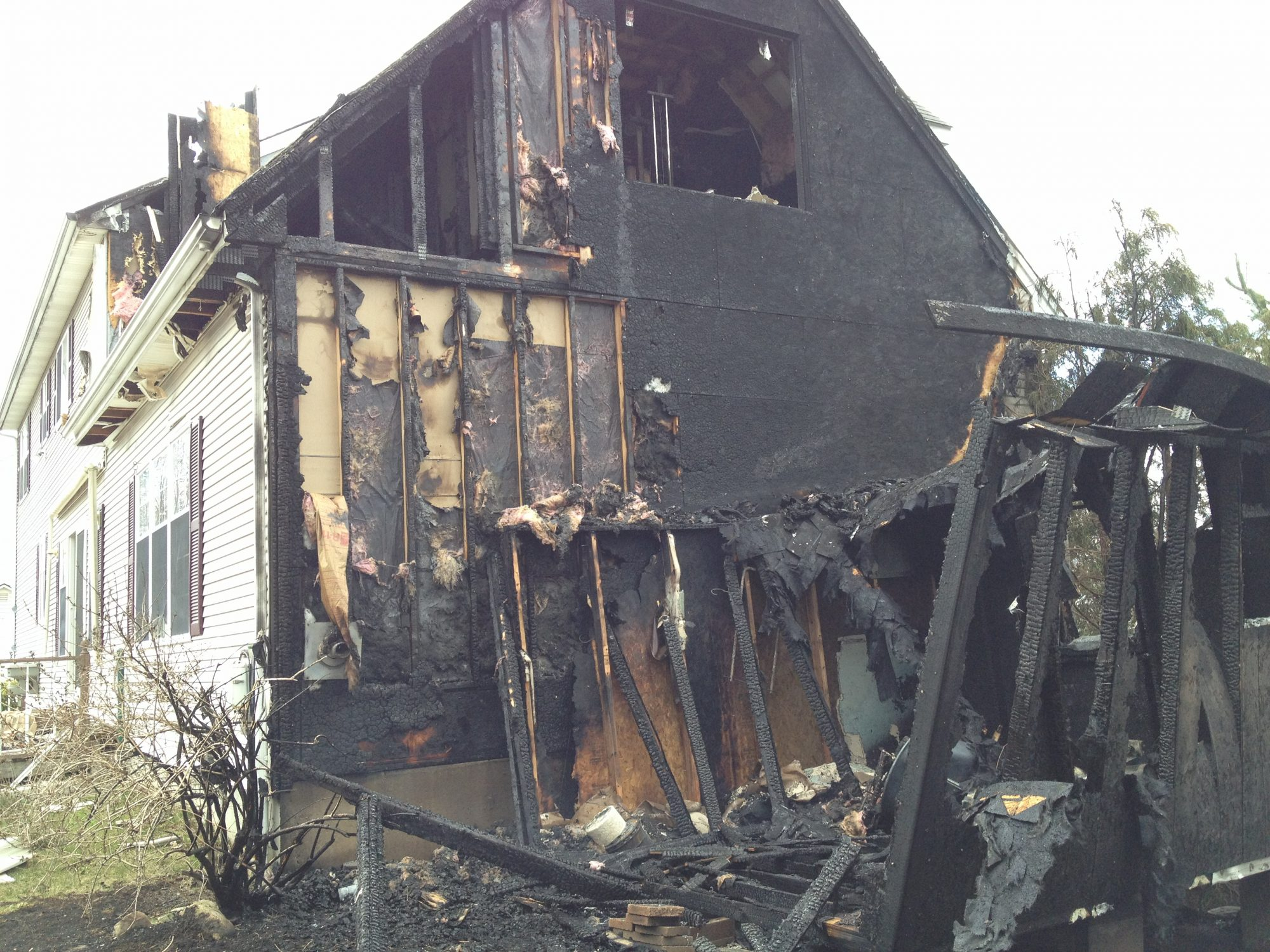Single Source Rebuilds Fire Damaged Home